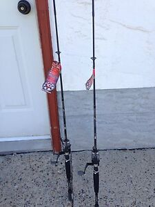 Brand new quantum fishing rod and reel combos