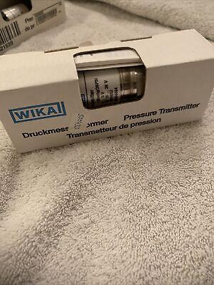 Wika 50364464 Pressure Transmitter -30inhg30psi 0-5v Dc10-30v New