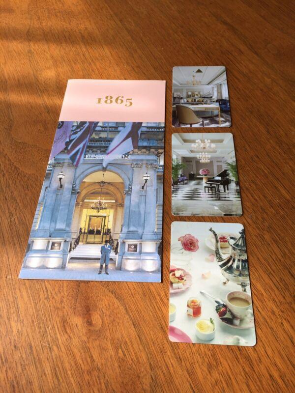 The Langham Hotel (3) Room Card Keys London Chicago