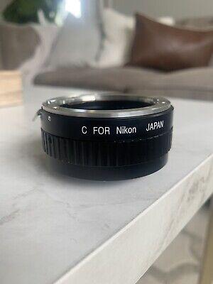 Nikon lens adapter c-mount