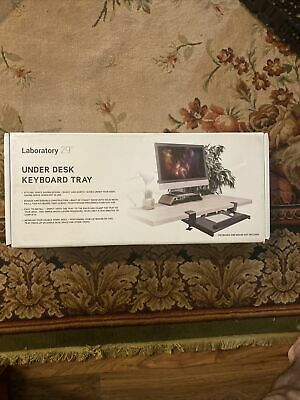 Keyboard Tray Under Desk Clamp On Adjustable Ergonomic Home Office Hospital Room