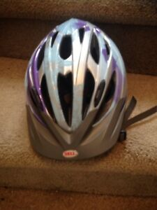 Bycicle helmet for adult used a. Few times $10 Oshawa