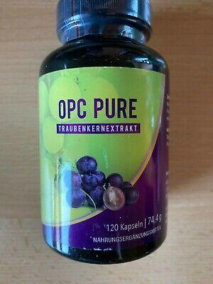 OPC PURE TRAUBENKERNEXTRAKT Antioxidantien 120 Kapseln