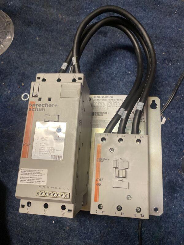 Sprecher + Schuh Soft-Starter PCE 147-600V-230V