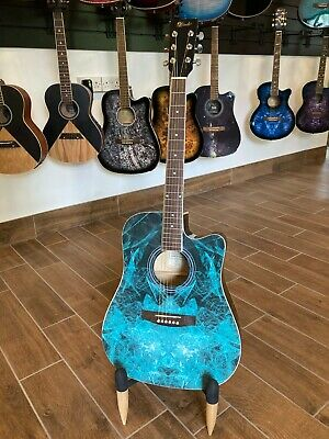 B-STOCK Lindo Fractal Acoustic Guitar 42C + Gig Bag (Paint Finish Imperfections)