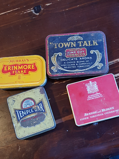 Wanted: Tobacco tins