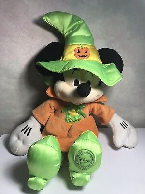Halloween Minnie Mouse Witch Hat (Disney Stores Minnie Mouse 16