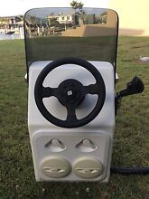 FIBREGLASS CONSOLE with control box and steering Carseldine Brisbane North East Preview