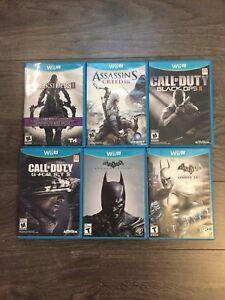 Nintendo Wii-U Games Bundle