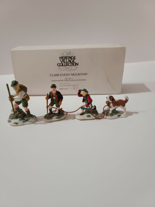DEPT 56 - CLIMB EVERY MOUNTAIN - Heritage Village Collection - 56138 5613-8