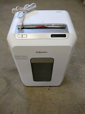 Fellowes 12ms Microshred 12-sheet Micro-cut Paper Shredder White