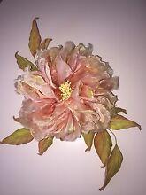 "Silk Flower, Silk Rose ""Margaret"", a handmade brooch Walkley Heights Salisbury Area Preview"