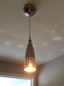 Interior pendant light and bulb