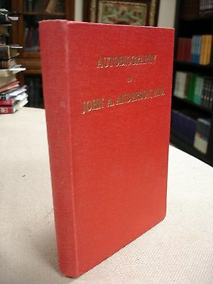 John A. Anderson signed by John Anderson - 1948 - China Inland Missions