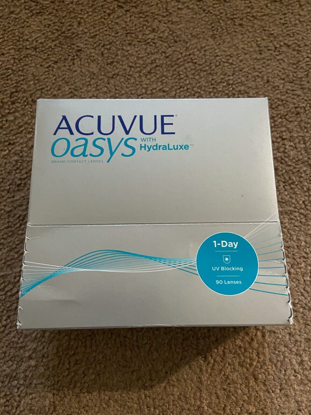 1-day Acuvu Oasis With Hydralux D -2.75, DIA 14.3, BC 8.5  - $66.06