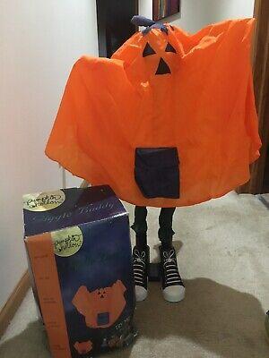 Animated Halloween Giggle Buddies Halloween Pumpkin Kid 34 in Used