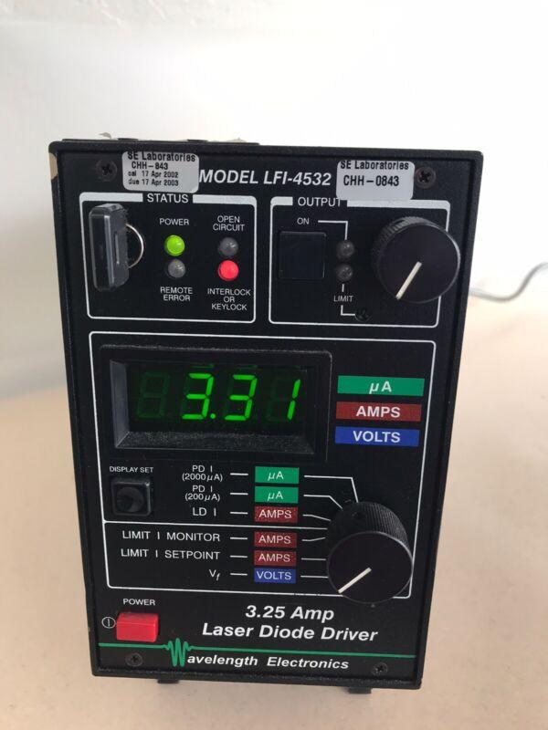 WAVELENGTH ELECTRONICS LFI-4532 LASER DIODE DRIVER 3.25AMP