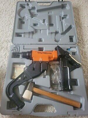 Hard Core Tools Flooring 2 In 1 Staplecleat Gun 15.5ga Nailer