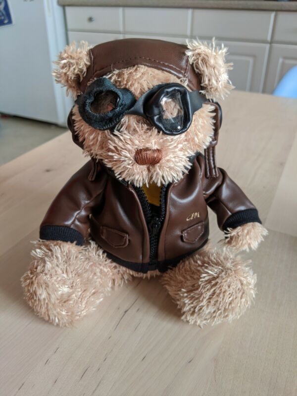 Cathay Pacific Airways Airline Pilot Aviator Plush Teddy Bear Stuffed Animal