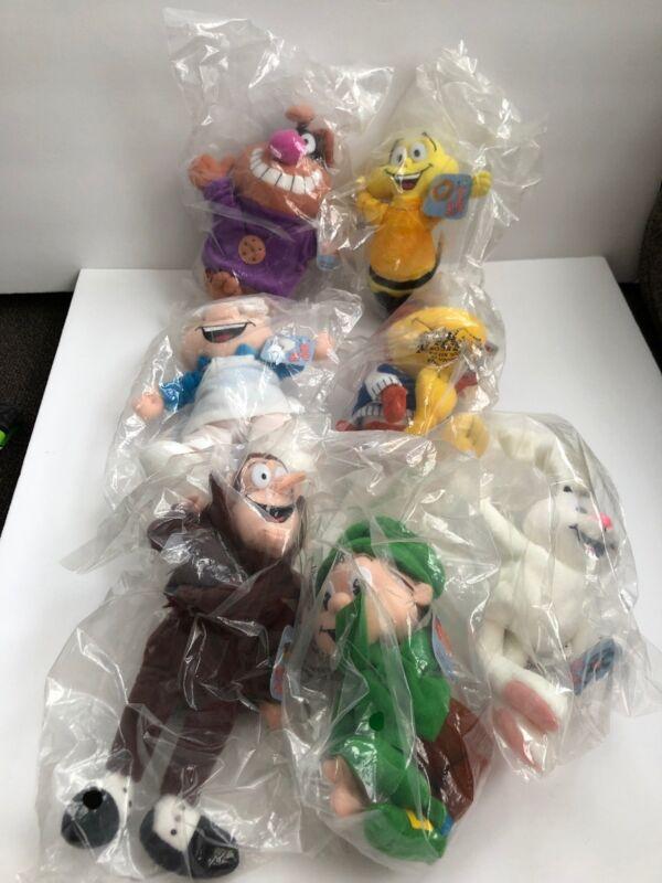 NEW / SEALED General Mills Big G Breakfast Pals COMPLETE SET of Seven 7 Toys