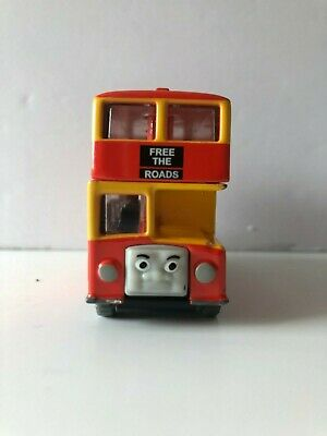 Thomas & Friends Learning Curve Take Along Die-Cast GUC Trains: 2004 BULGY BUS!