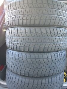 4-235/65R17 Bridgestone winter tires