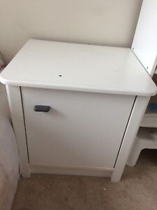 Side table cabinet and taller door cabin