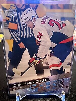 Connor McMichael 2020-21 UD Upper Deck ROOKIE Young Guns 234 RC Capitals Mint YG
