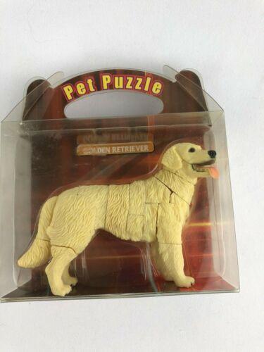 Golden Retriever Pet Puzzle 3D 24 Pieces Figurine Dog