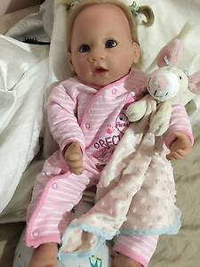Sold Ashton Drake reborn baby girl - ADG Doll Docklands Melbourne City Preview