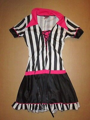Womens REFEREE REF football basketball sexy Halloween Costume 5 - 7 juniors (Halloween Costumes Basketball)