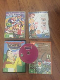 Story book DVDs x 5 Morayfield Caboolture Area Preview