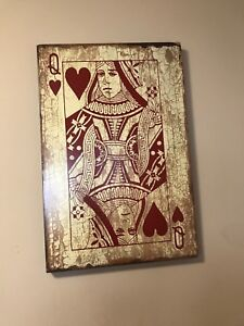 Ace and Queen wall decoration