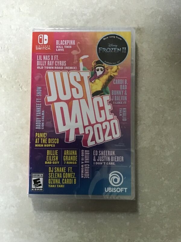 Just Dance 2020 Nintendo switch Brand New Ubisoft