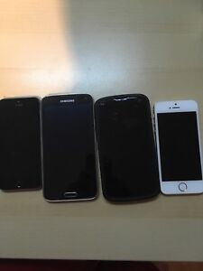 iPhone 5s, Samsung galaxy and nexus 4 for sale