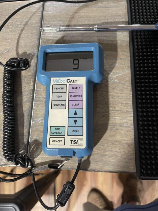 TSI VelociCalc Air Velocity Meter Model 8345 CFM, Temperature