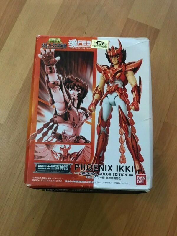 Saint Seiya Myth Cloth Original Color Phoenix Ikki Limited Edition Japan [used]