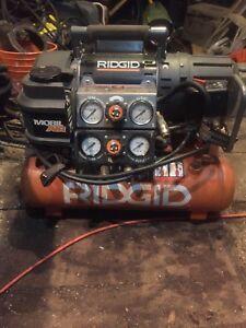 Ridgid 5in1 air compressor