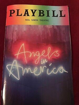 Pride Playbill June 2018 Angels In America Rare Nathan Lane Andrew Garfield NYC