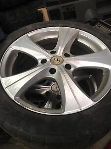 18 inch Rims and tyres, commodore pattern. Moama Murray Area Preview