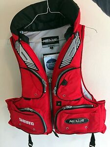 Brand New Brand  !SHIMANO Nexus LIFE JACKET/FISHING VEST Strathfield South Strathfield Area Preview