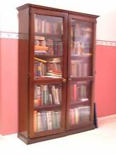 Solid Timber Bookcase with Glass Doors Ringwood East Maroondah Area Preview