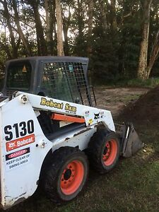 Bobcat tipper and mini excavator hire Engadine Sutherland Area Preview