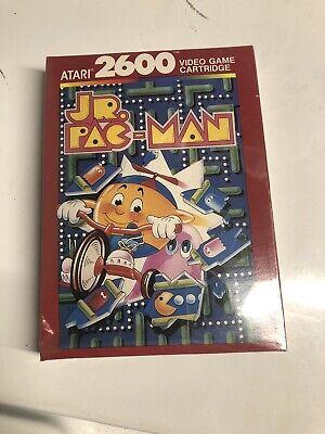 Jr. Pac-Man (Atari 2600, 1984) New in Box, Sealed