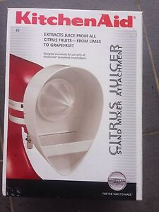 KitchenAid Citrus Juicer Stand Mixer Attachment as new North Strathfield Canada Bay Area Preview