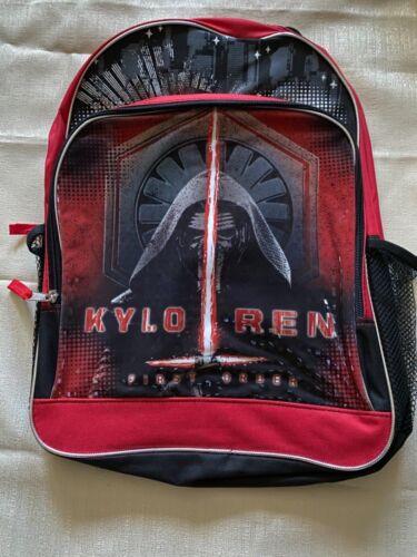NWOT Star Wars Kylo Ren First Order backpack