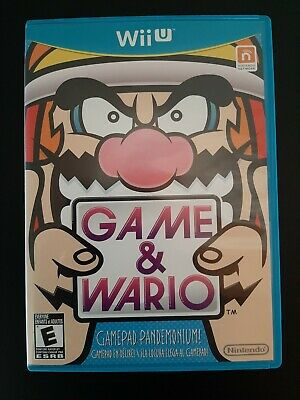 Game & Wario - Nintendo Wii U - Complete - Excellent Condition