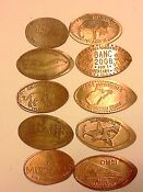 Elongated Pressed Pennies Lots