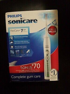Philips Sonicare FlexCare + 7 Series Sonic Electric Toothbrush Cuidado completo de las encías