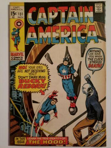 CAPTAIN AMERICA #131 - High Grade!! (Marvel November 1970)